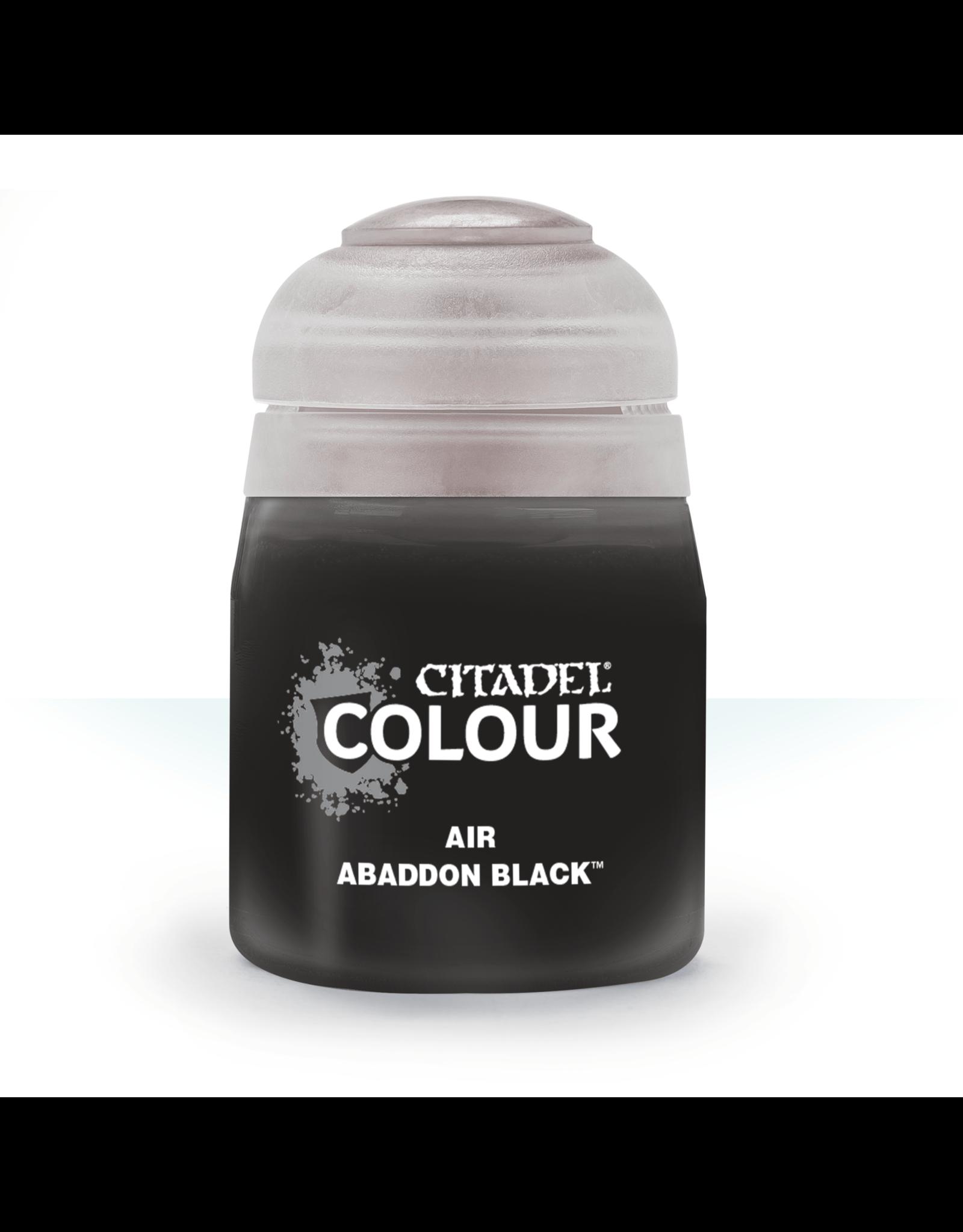 Citadel Citadel Paints Air Paint Abaddon Black