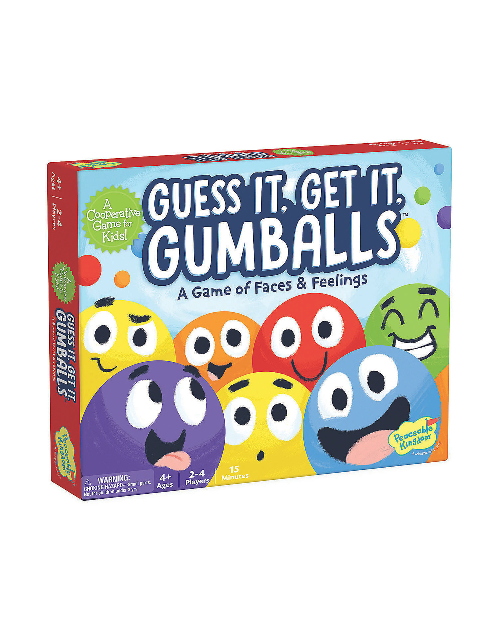 Peaceable Kingdom Guess It, Get It, Gumballs