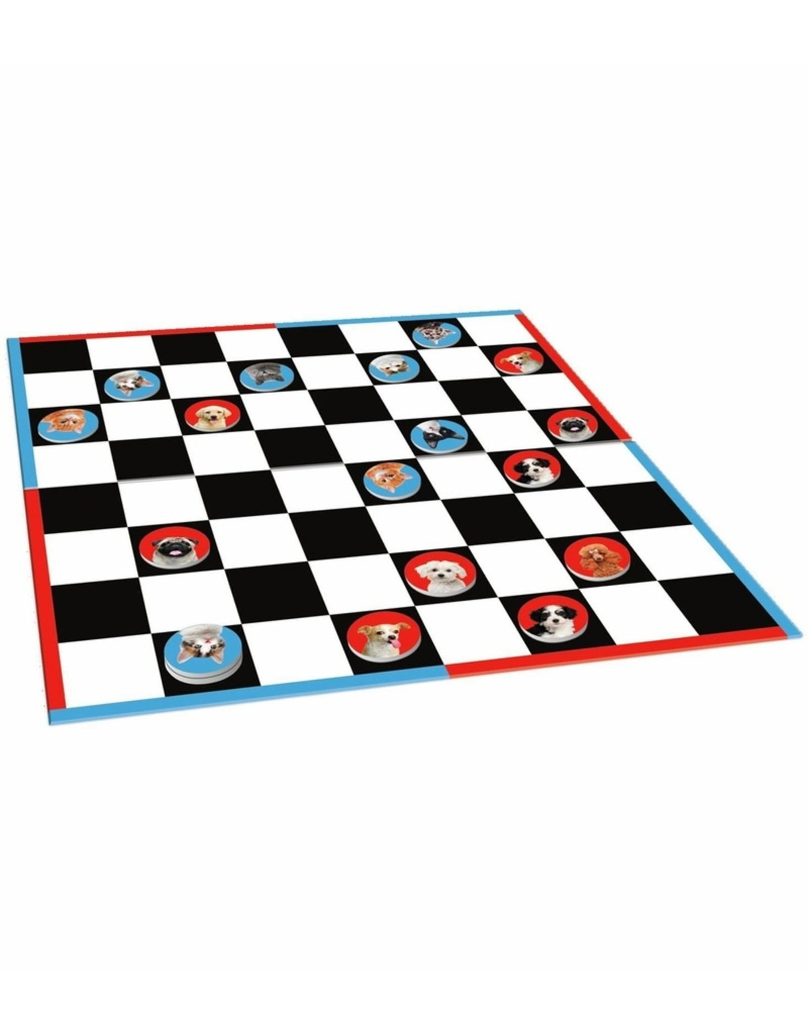 Peaceable Kingdom Cats vs Dogs Checkers