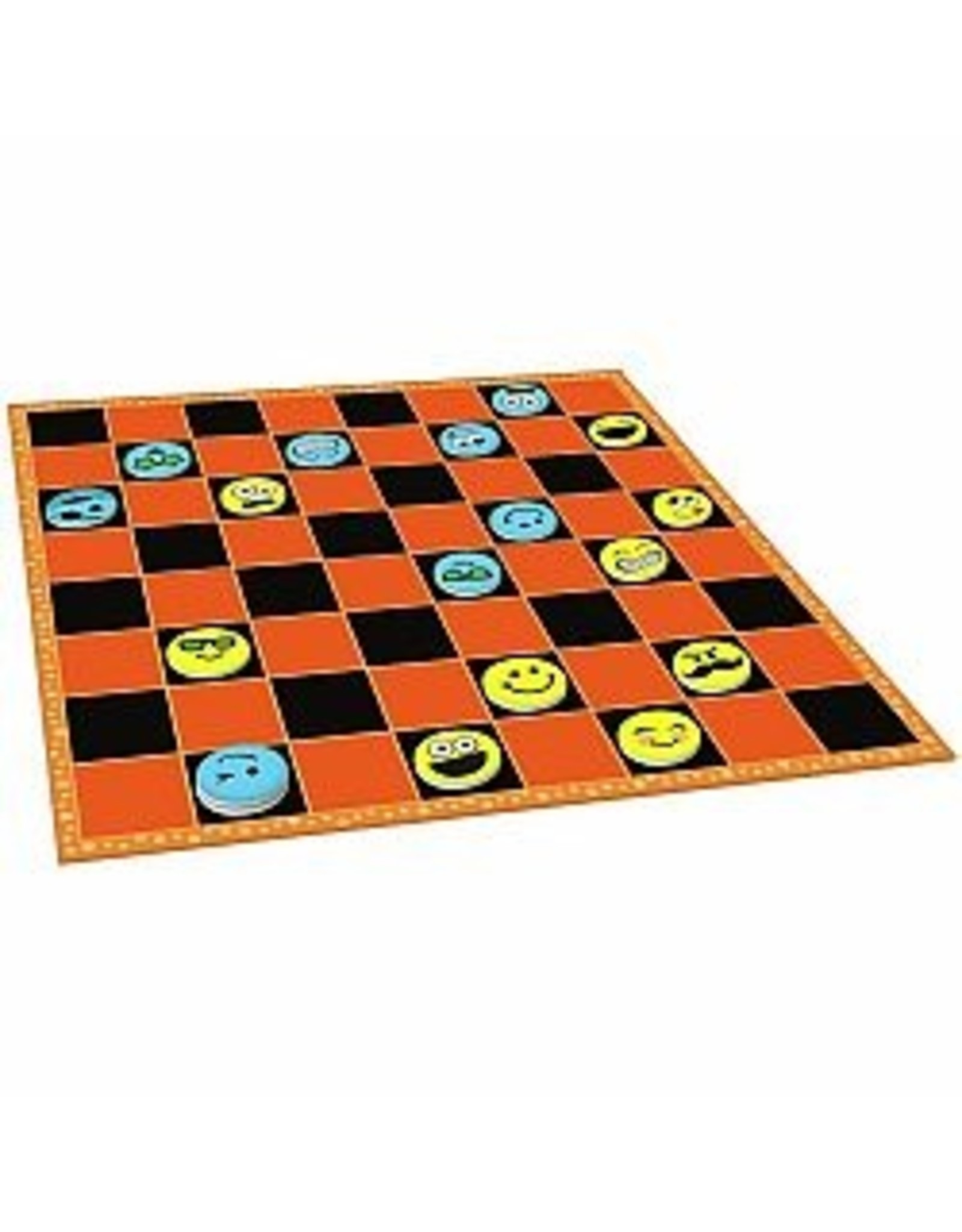 Peaceable Kingdom Silly Face Checkers