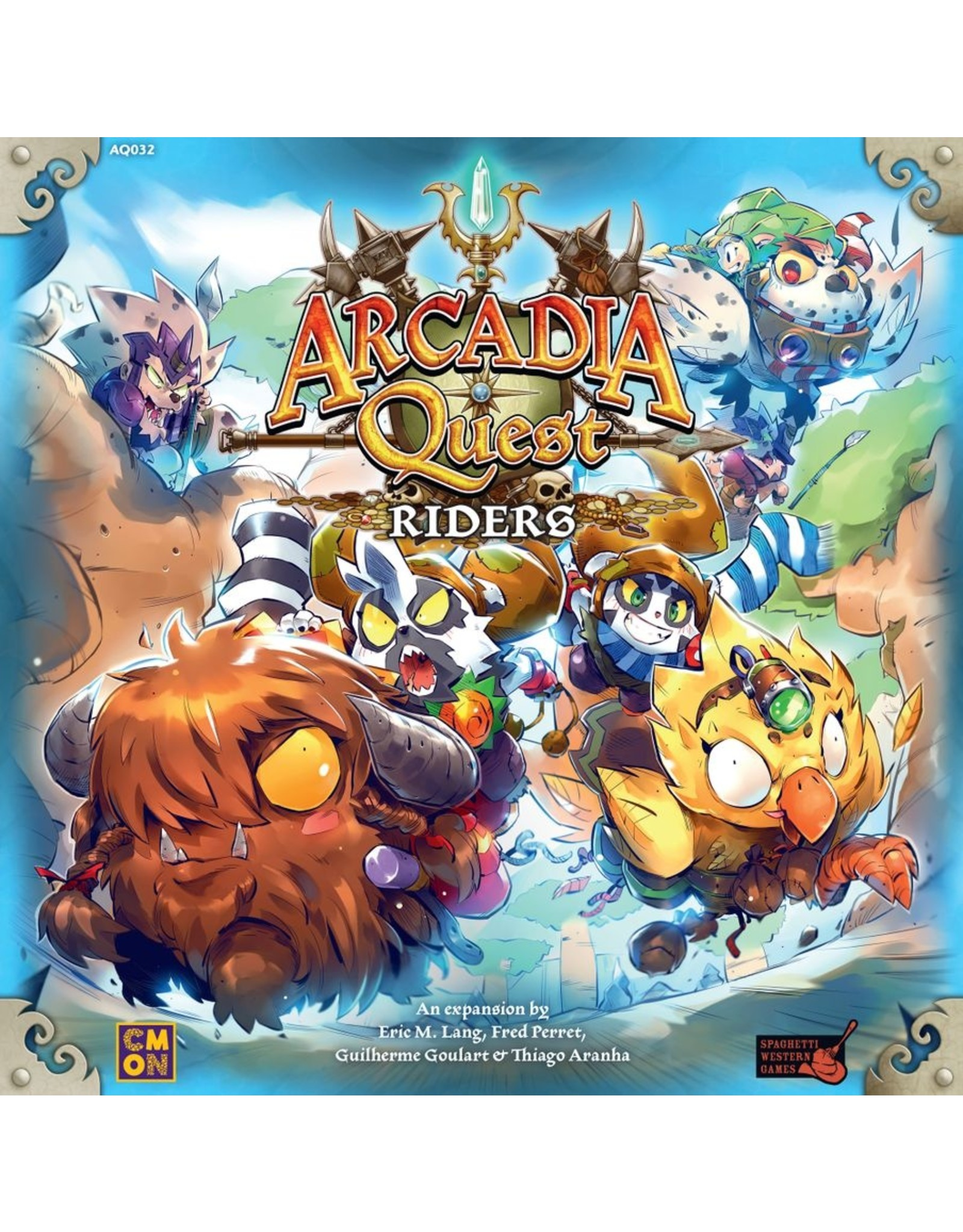 CMON Arcadia Quest: Riders Expansion