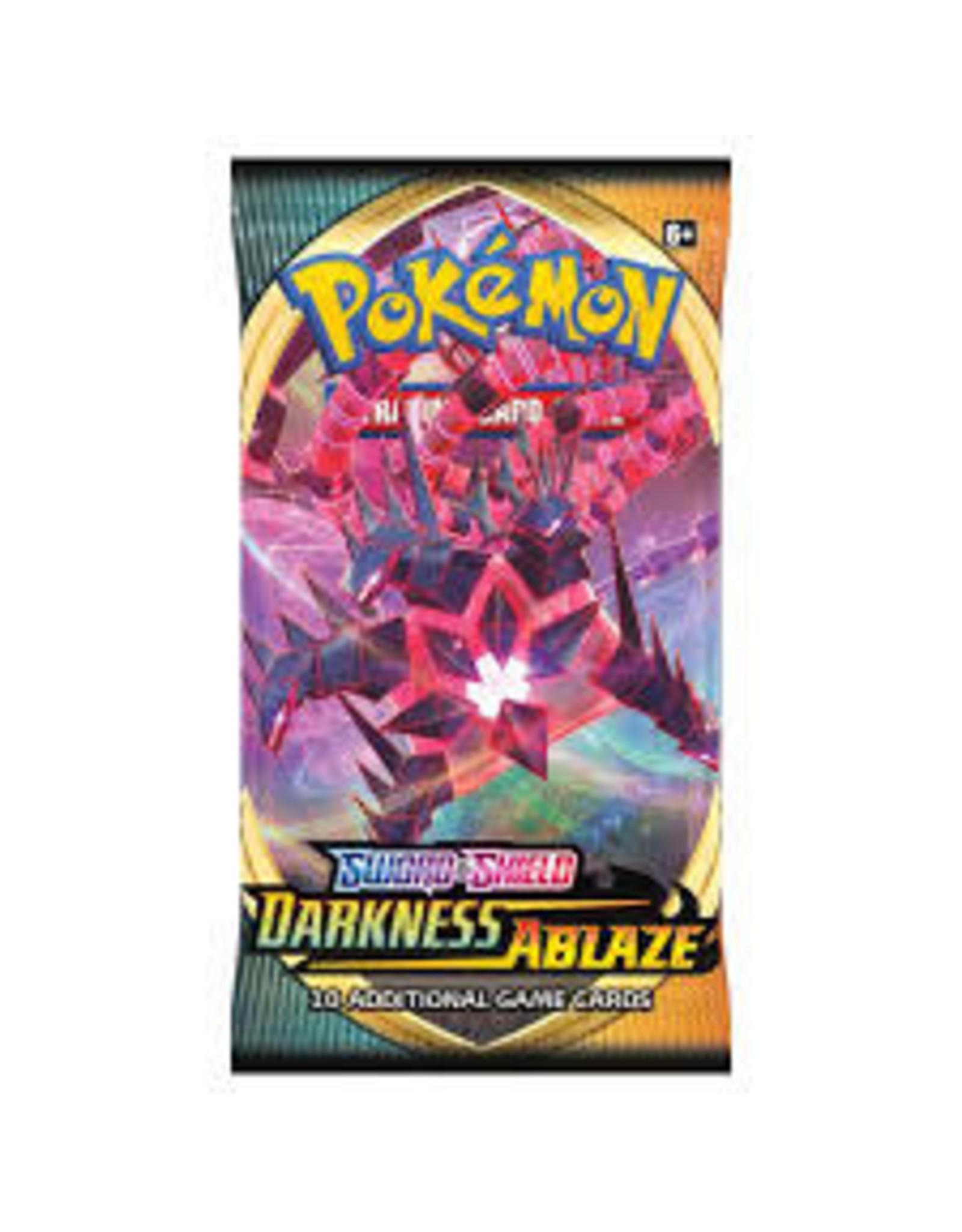 The Pokemon Company Pokemon: Darkness Ablaze Booster Pack