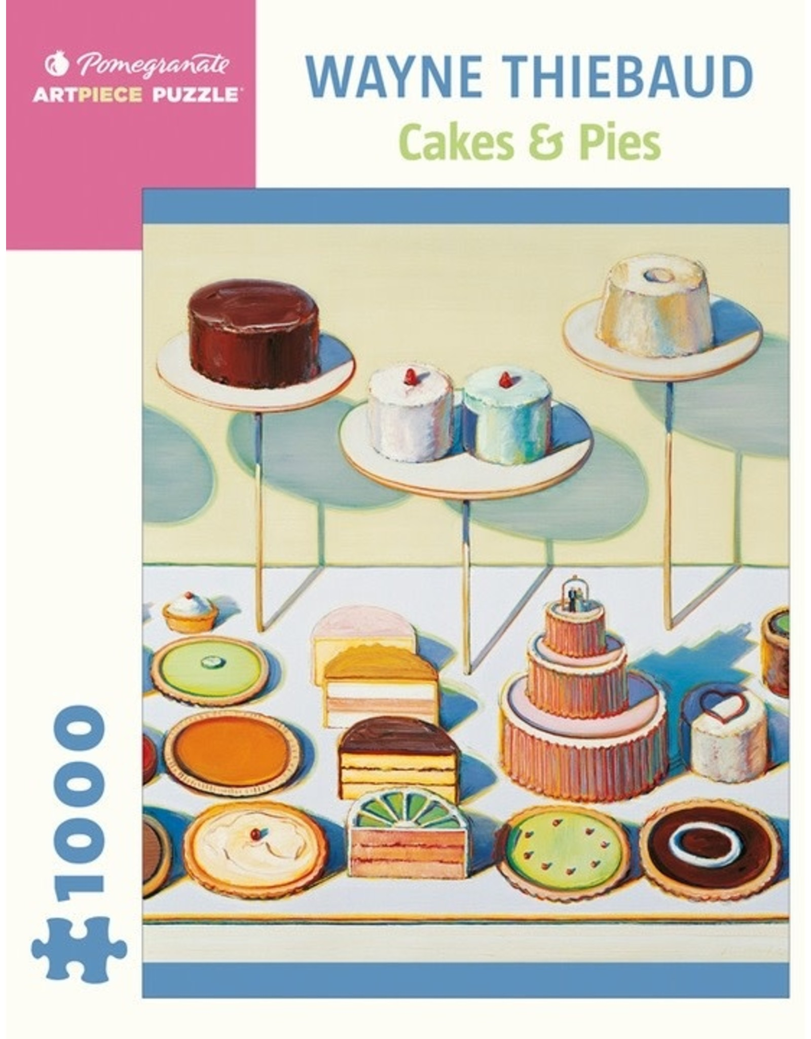 "Pomegranate ""Cakes and Pies"" 1000 Piece Puzzle"