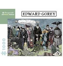 "Pomegranate ""Edward Gorey"" 1000 Piece Puzzle"