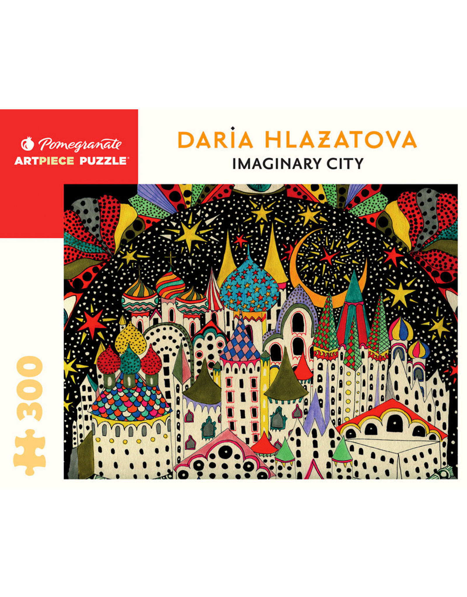 "Pomegranate ""Imaginary City"" 300 Piece Puzzle"