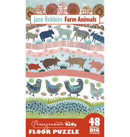 "Pomegranate ""Farm Animals"" 48 Piece Floor Puzzle"
