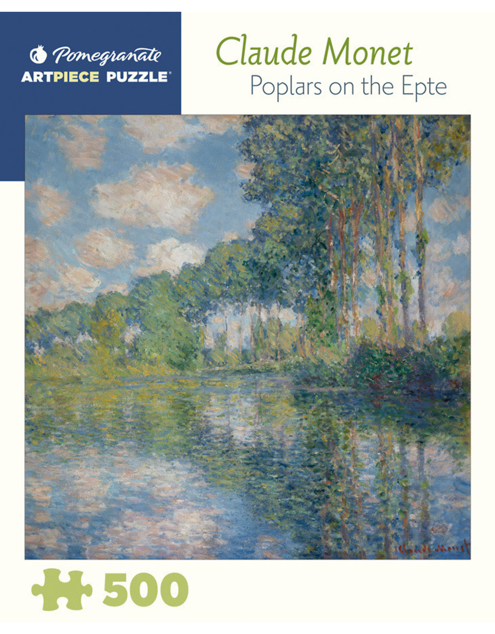 """Pomegranate """"Poplars on the Epte"""" 500 Piece Puzzle"""