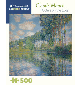 "Pomegranate ""Poplars on the Epte"" 500 Piece Puzzle"