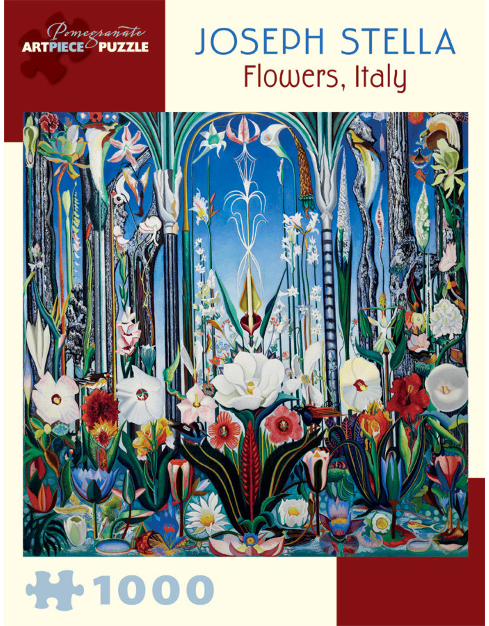"Pomegranate ""Flowers, Italy"" 1000 Piece Puzzle"