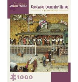 "Pomegranate ""Crestwood Commuter Station"" 1000 Piece Puzzle"