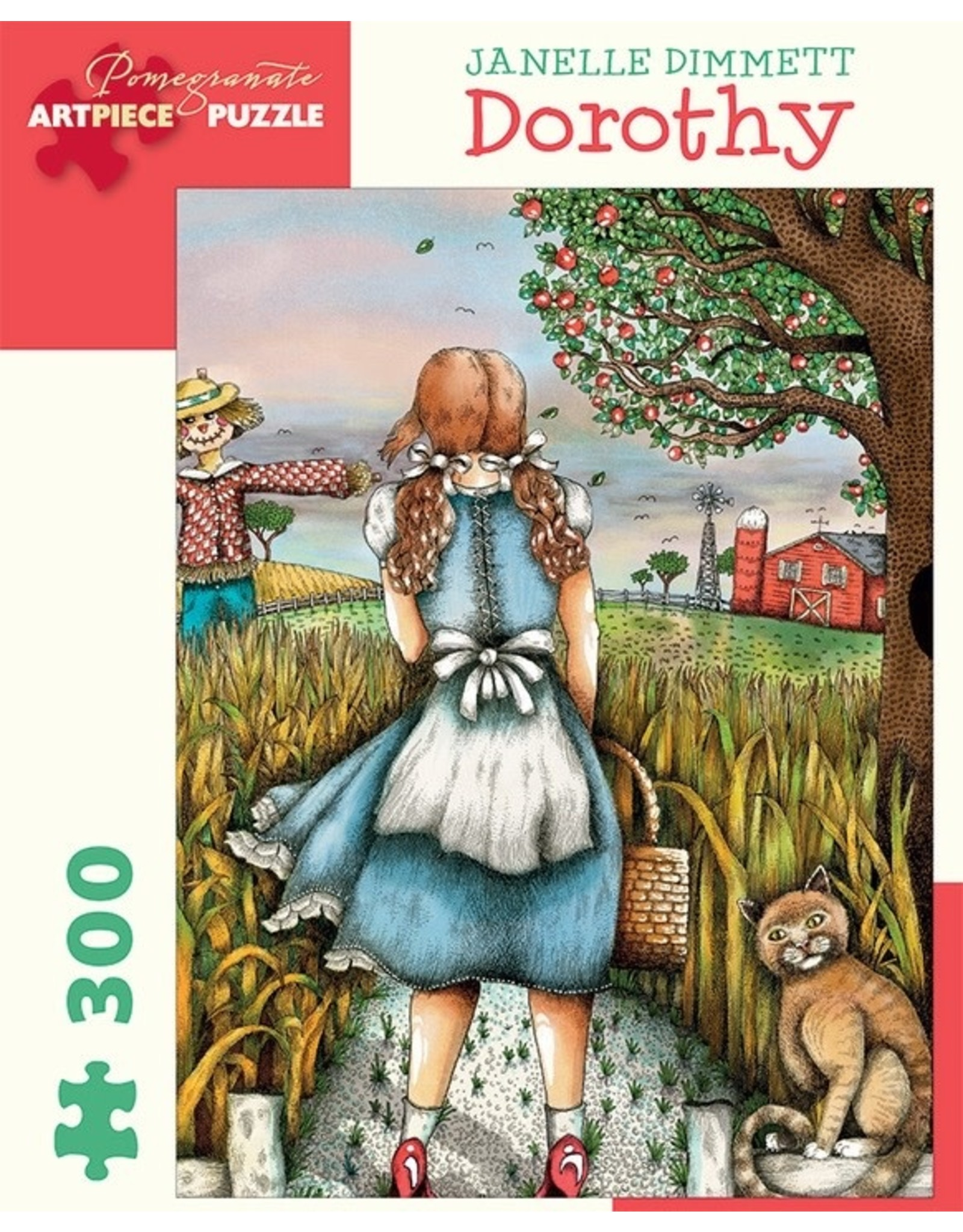 "Pomegranate ""Dorothy"" 300 Piece Puzzle"