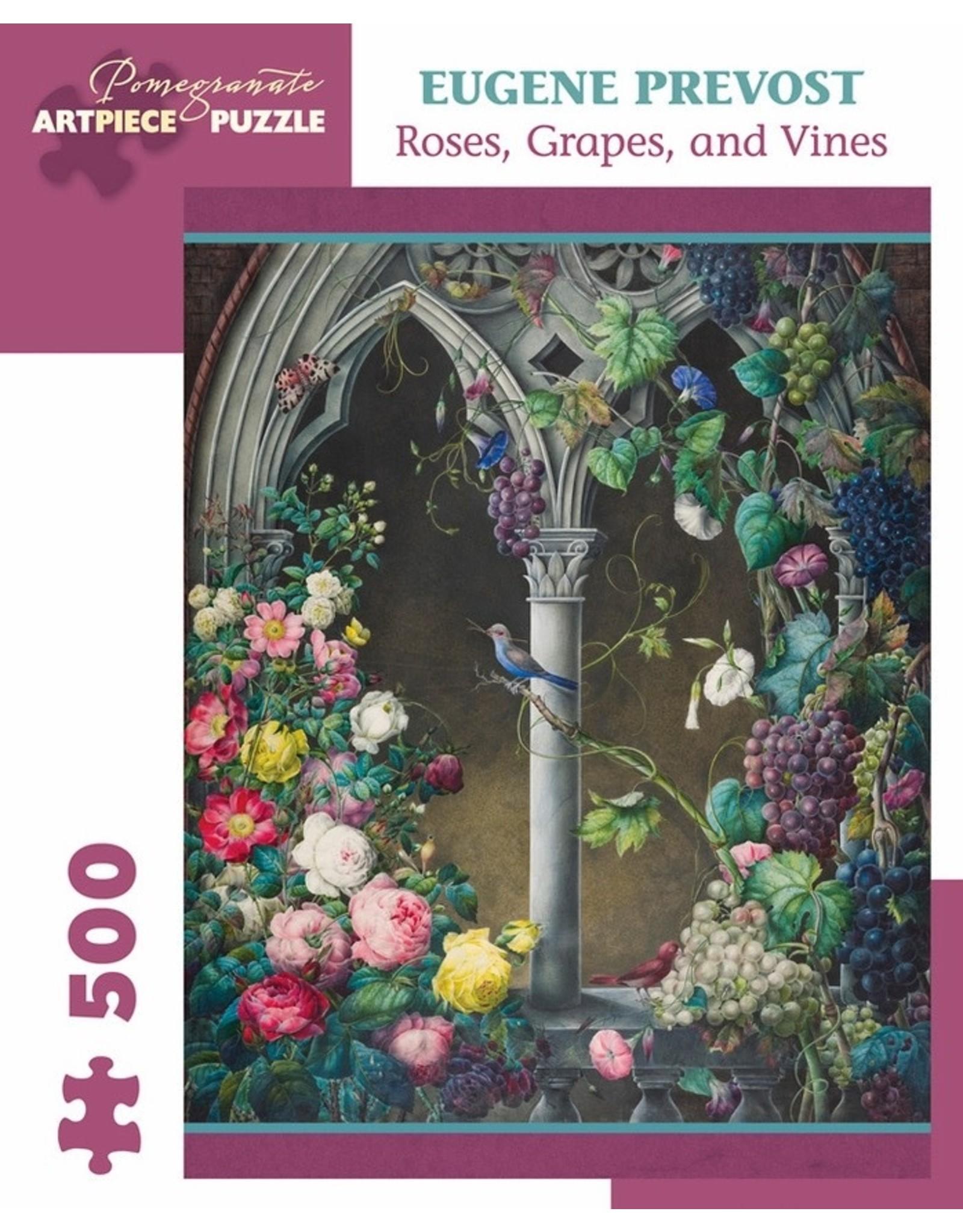"Pomegranate ""Roses, Grapes, Vines"" 500 Piece Puzzle"