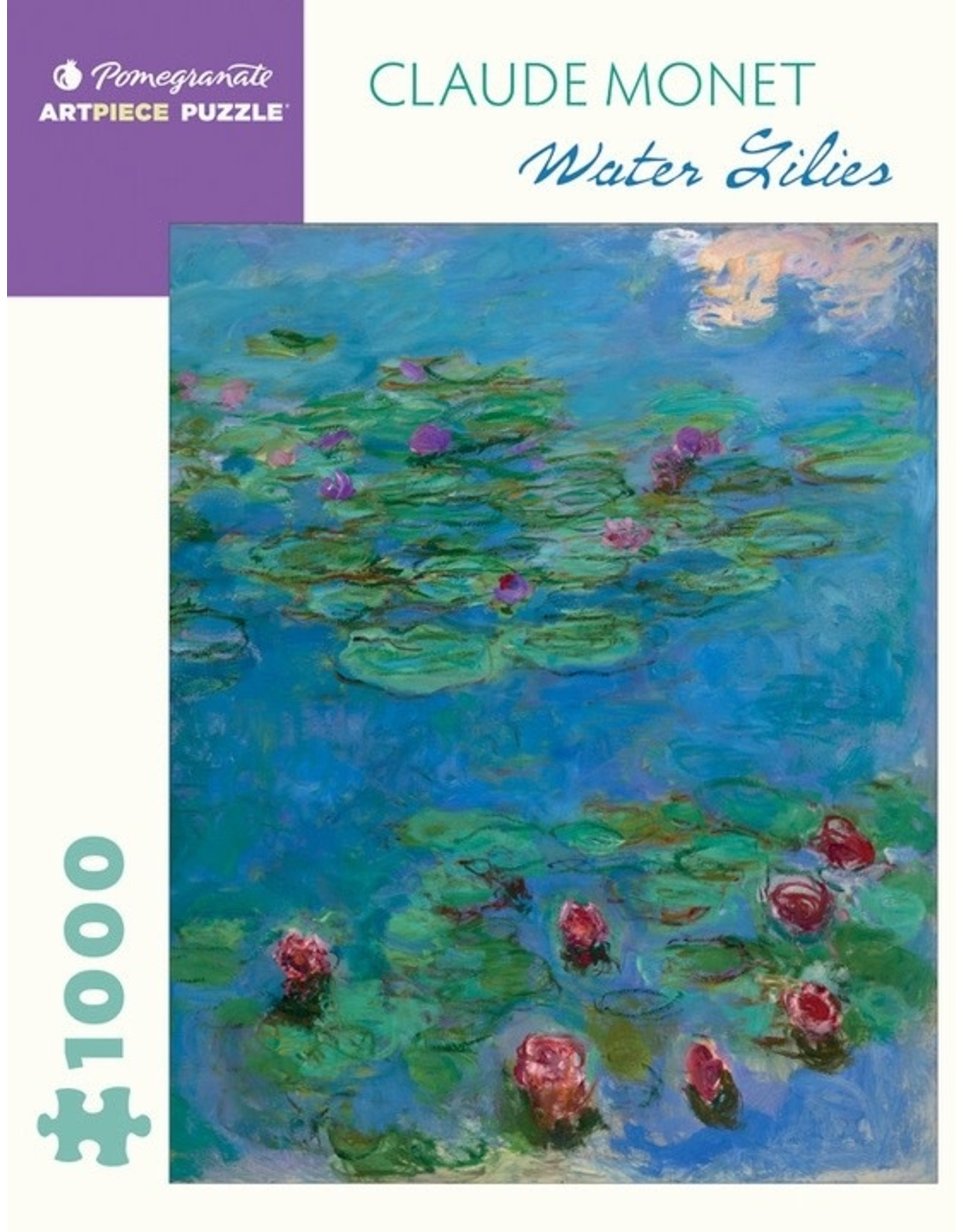 "Pomegranate ""Water Lilies"" 1000 Piece Puzzle"