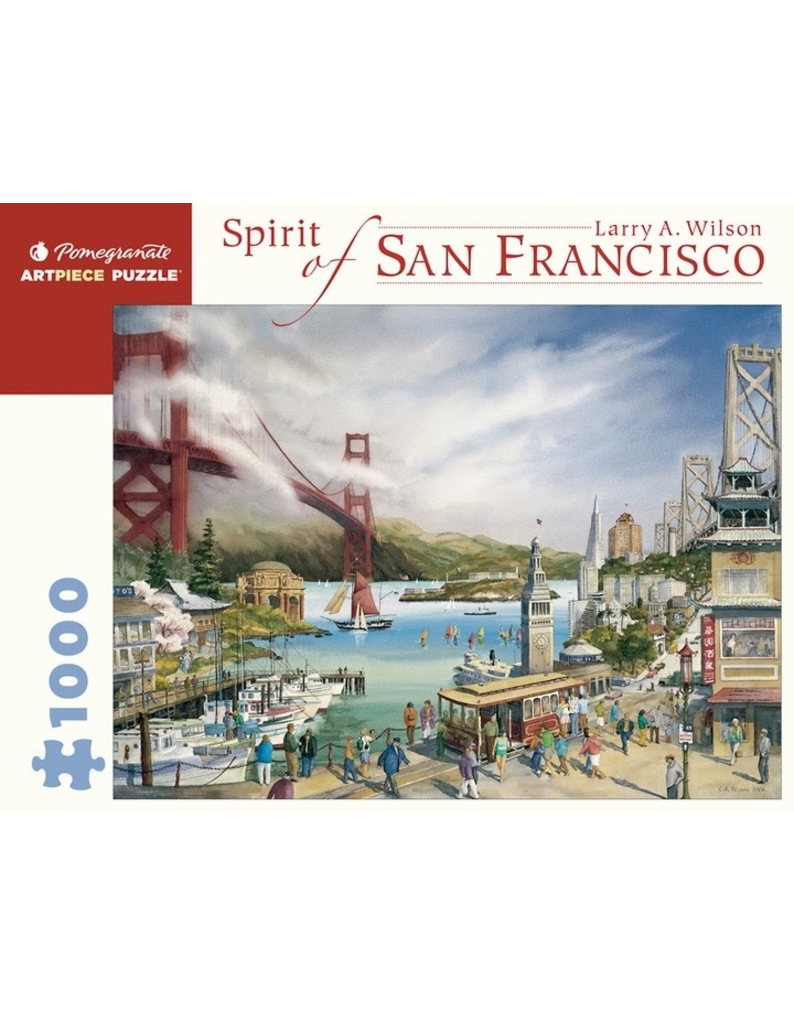 "Pomegranate ""Spirit of San Francisco"" 1000 Piece"