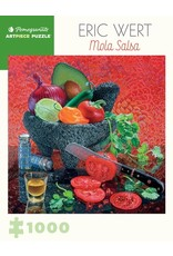 "Pomegranate ""Mola Salsa"" 1000 Piece Puzzle"