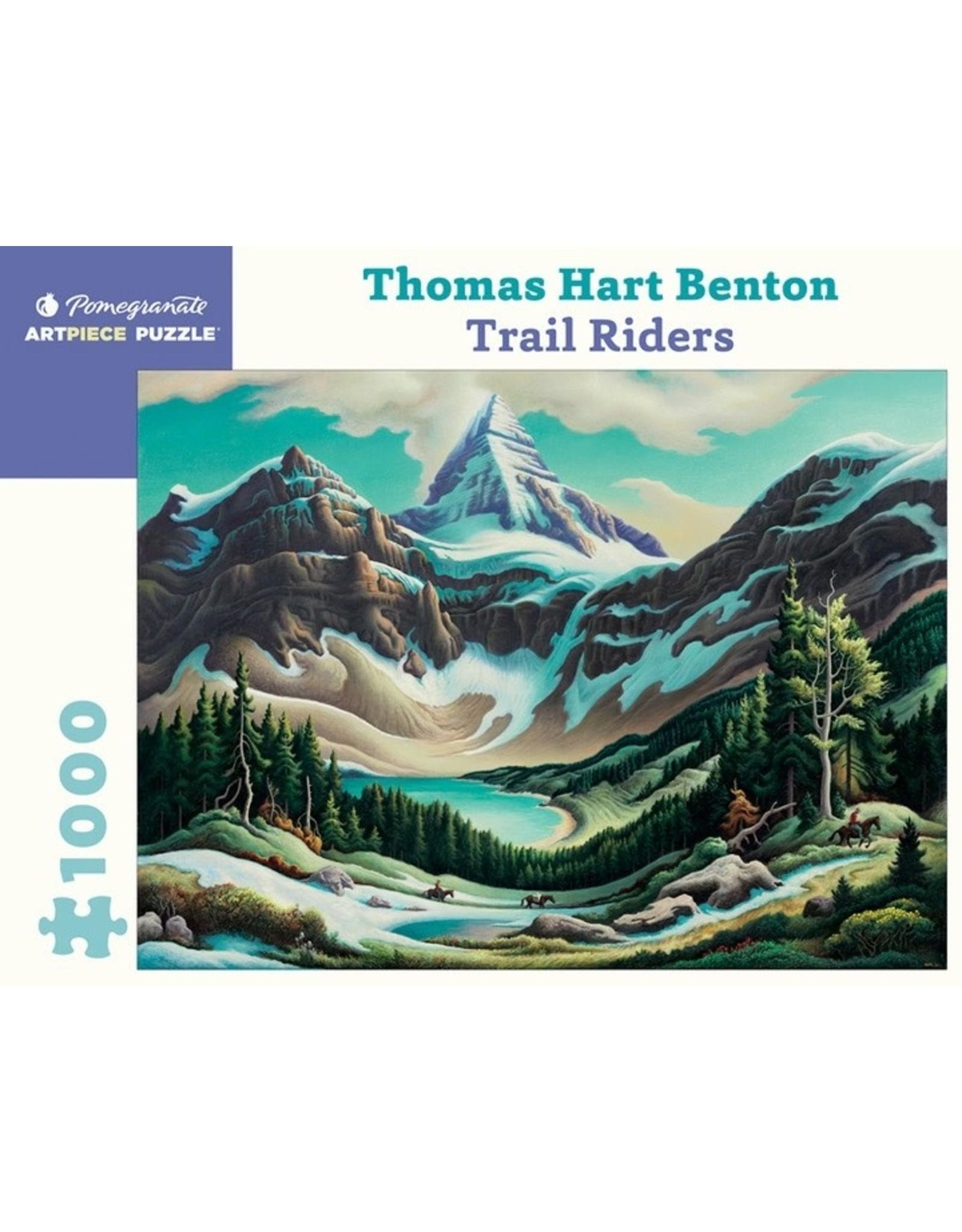 "Pomegranate ""Trail Riders"" 1000 Piece Puzzle"