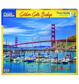"White Mountain Puzzle ""Golden Gate Bridge"" 1000 Piece Puzzle"