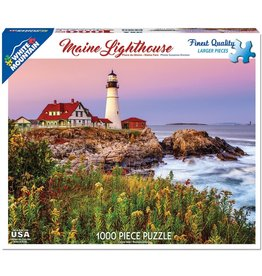 "White Mountain Puzzle ""Maine Lighthouse"" 1000 Piece Puzzle"