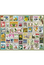 White Mountain Puzzle State Flower Stamps 1000 Piece