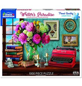 "White Mountain Puzzle ""Writer's Paradise"" 1000 Piece Puzzle"