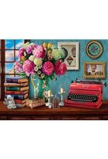 "White Mountain Puzzle ""Writer's Paradise"" 1000 Piece Puzzle"
