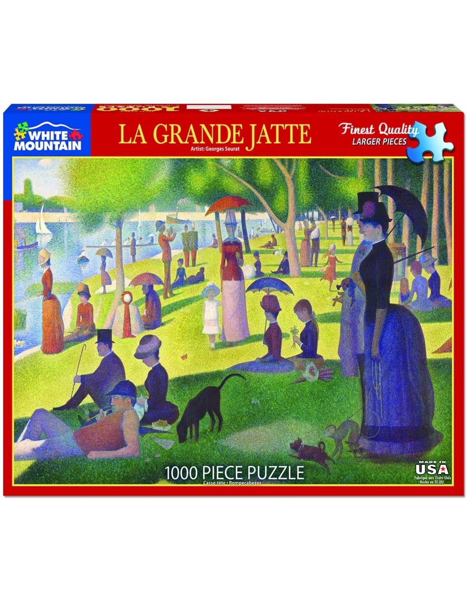 "White Mountain Puzzle ""La Grande Jatte"" 1000 Piece Puzzle"