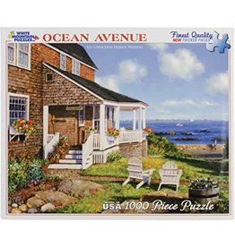 "White Mountain Puzzle ""Ocean Avenue"" 1000 Piece Puzzle"
