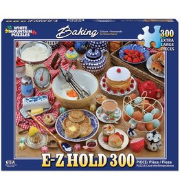 "White Mountain Puzzle ""Baking"" 300 Piece Puzzle"
