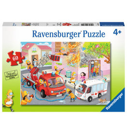 "Ravensburger ""Firefighter Rescue"" 60 Piece Puzzle"