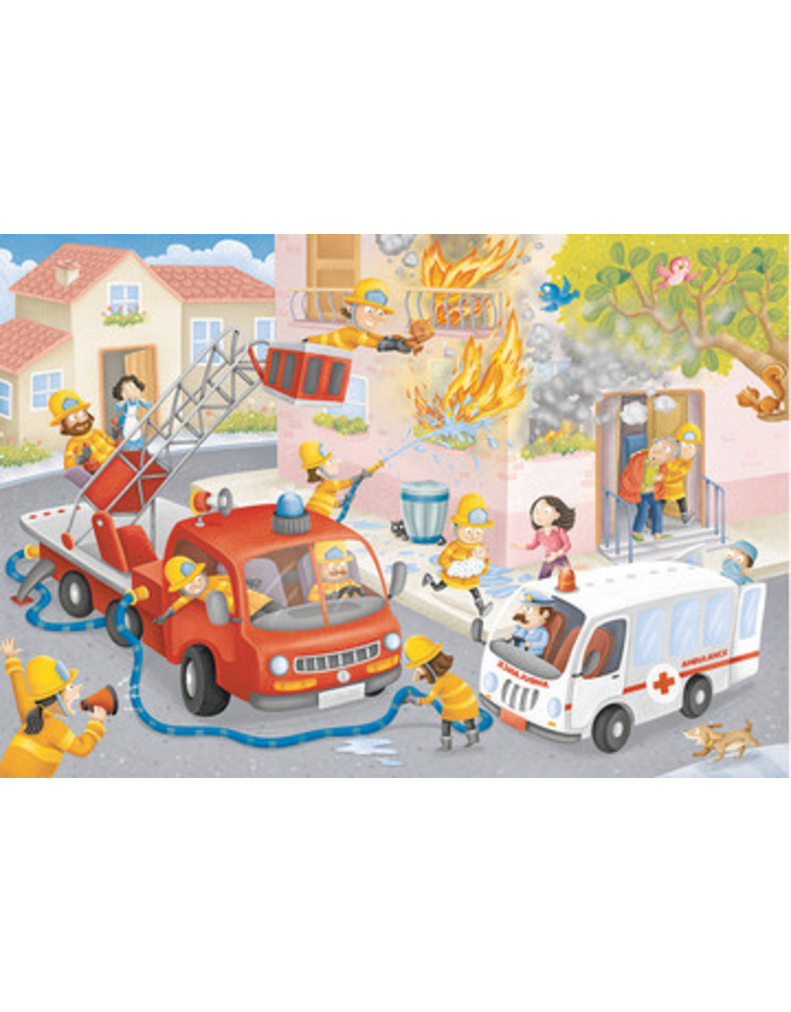 "Ravensburger ""Firefighter Rescue"" 60 Piece Puzzle"