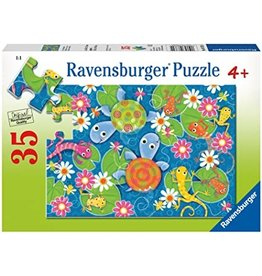 "Ravensburger ""Colorful Reptiles"" 35 Piece Puzzle"
