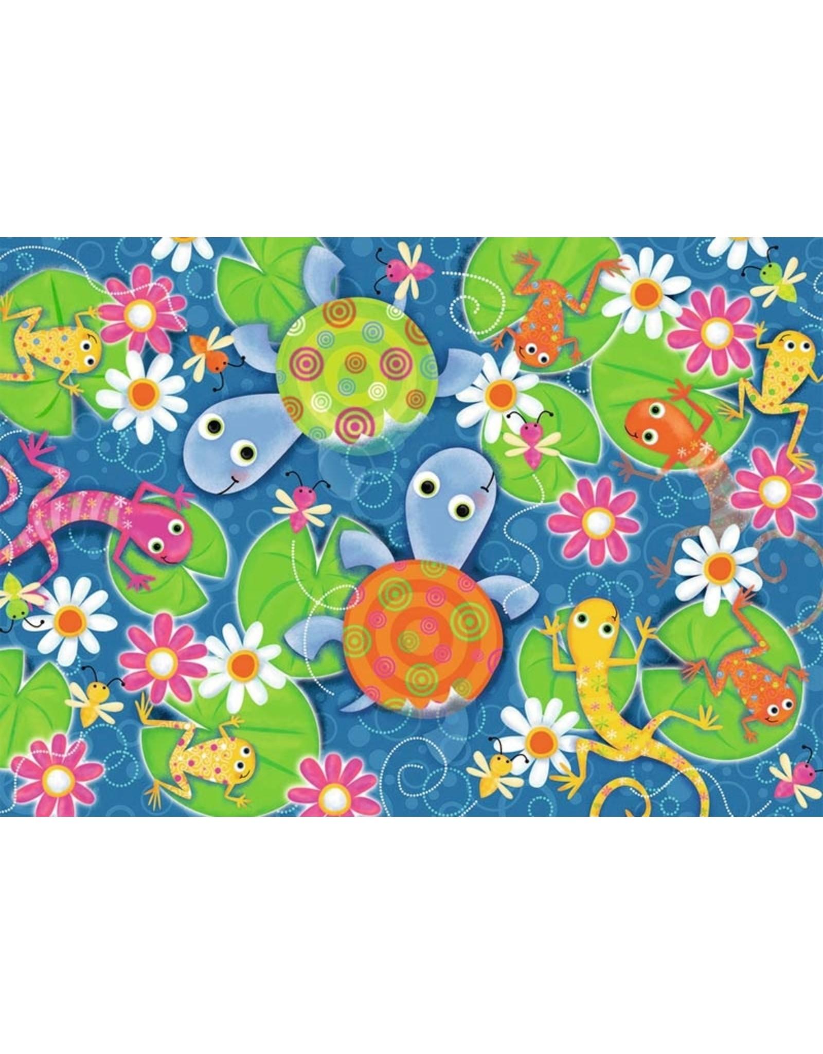 "Ravensburger ""Colorful Reptiles"" 35 Piece Puzzle"