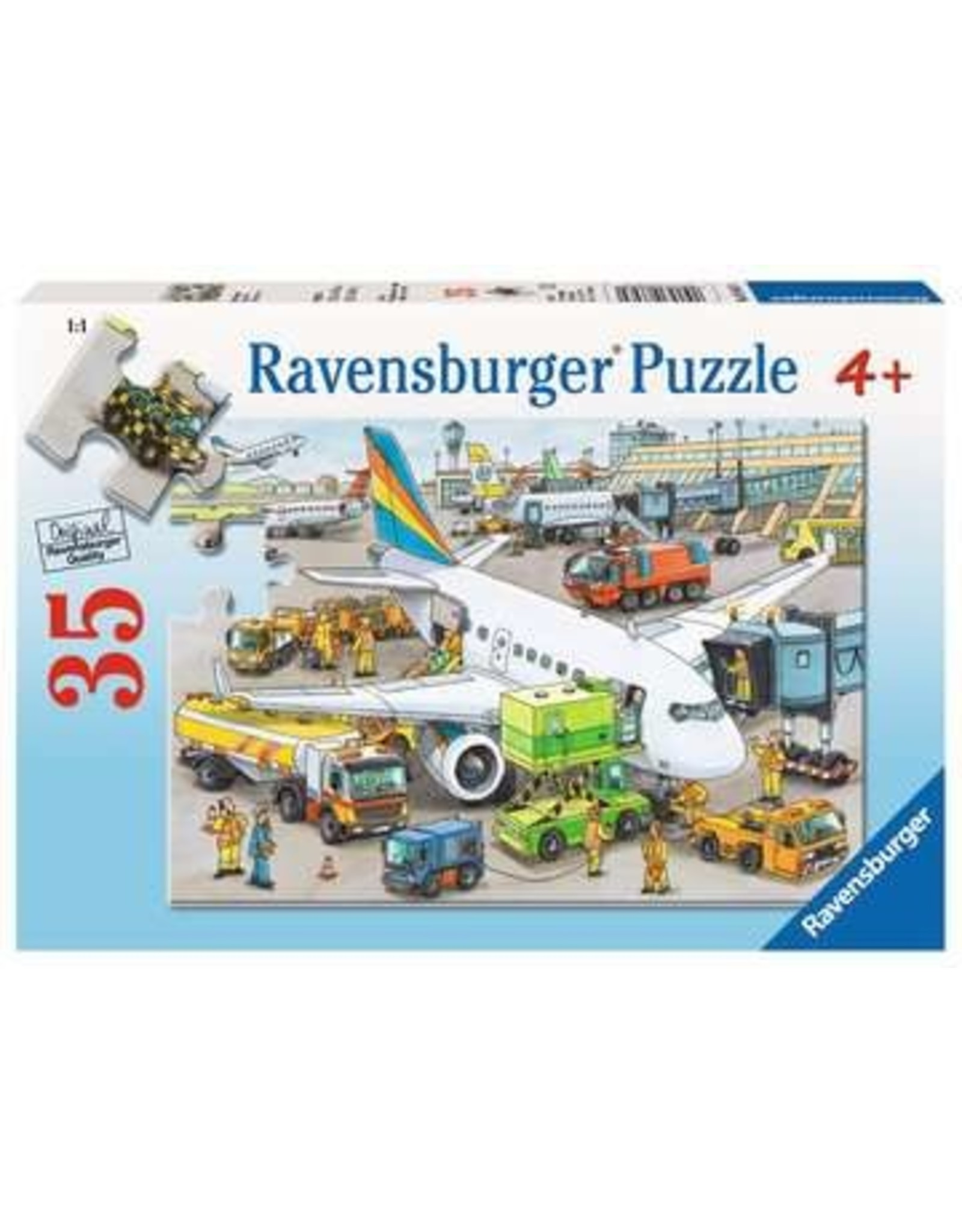 "Ravensburger ""Busy Airport"" 35 Piece Puzzle"