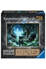 "Ravensburger ""The Curse of the Wolves"" 759 Piece Escape Puzzle"