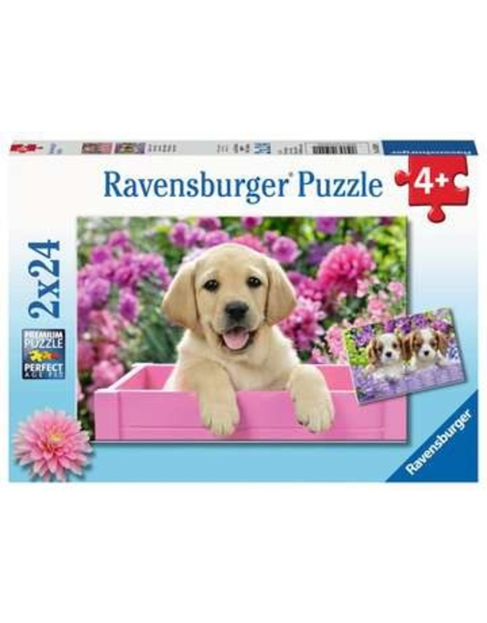 """Ravensburger """"Me and My Pal"""" 2x 24 Piece Puzzles"""