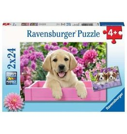 "Ravensburger ""Me and My Pal"" 2x 24 Piece Puzzles"