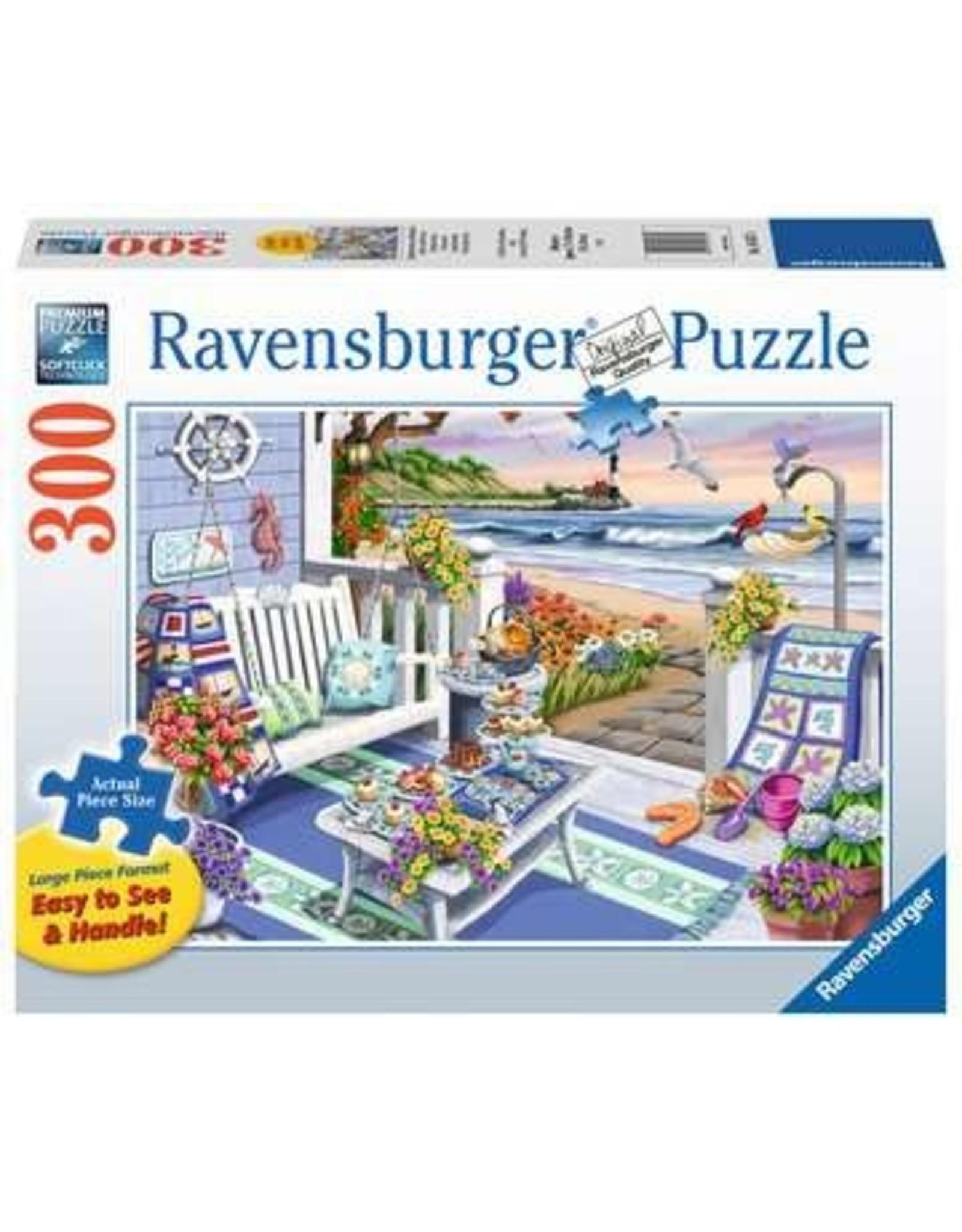 """Ravensburger """"Seaside Sunshine"""" 300 Piece Puzzle"""