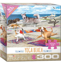 "Eurographics ""Yoga Beach"" 300 Piece Puzzle"