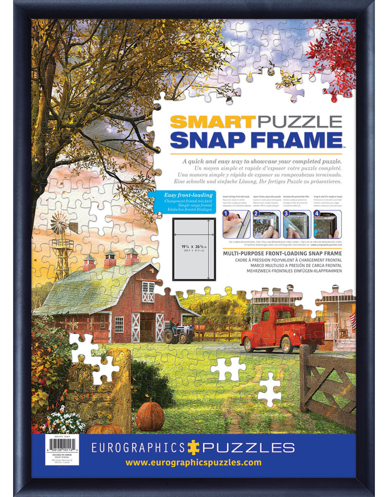 Eurographics Easy Puzzle Snap Frame Kit