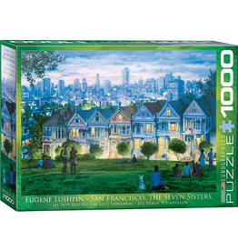 "Eurographics ""San Francisco - Seven Sisters"" 1000 Piece Puzzle"