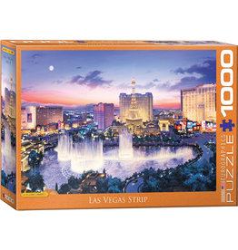 "Eurographics ""Las Vegas Strip"" 1000 Piece Puzzle"