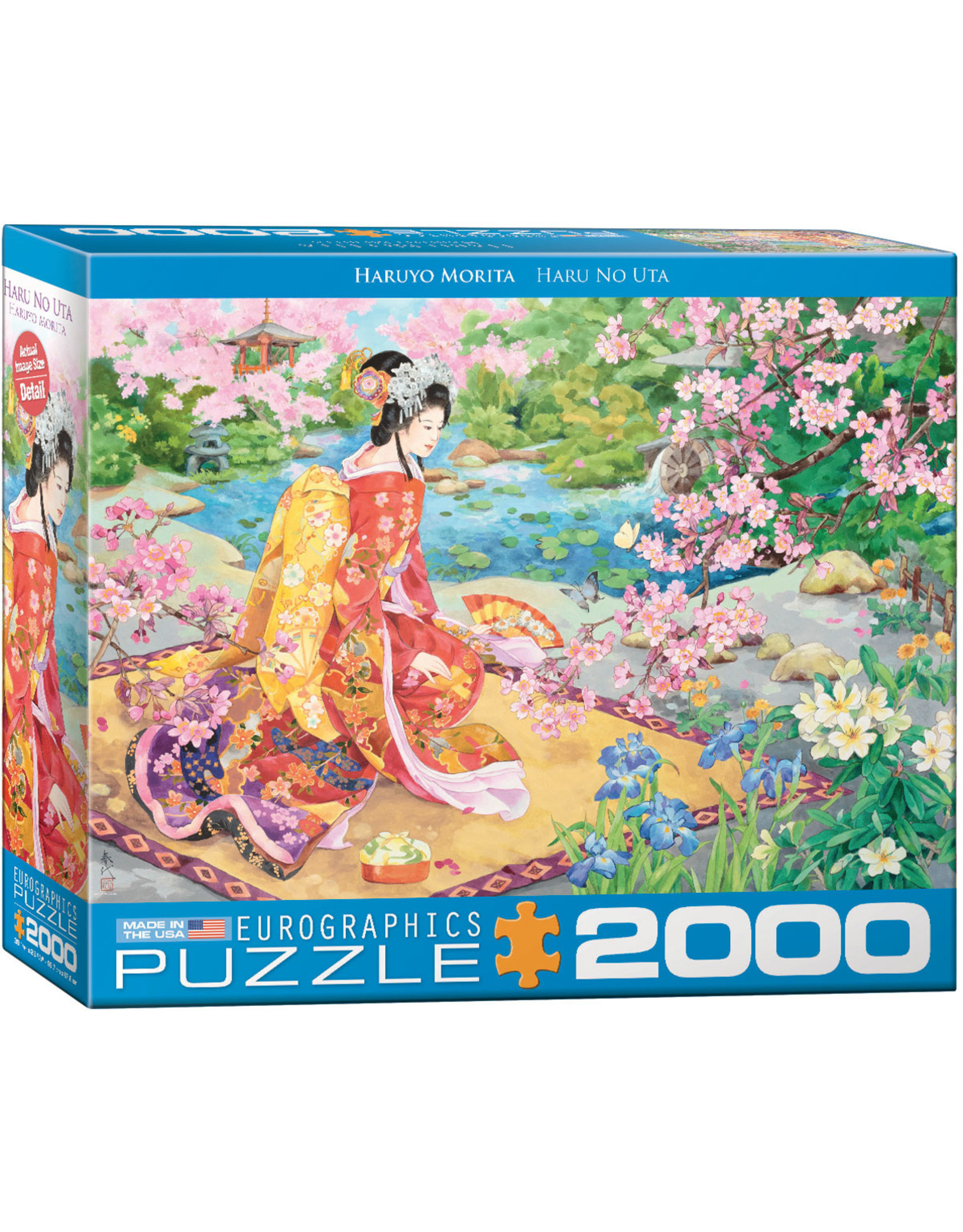 "Eurographics ""Haru No uta"" 2000 Piece Puzzle"