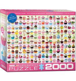 "Eurographics ""Cupcakes Galore"" 2000 Piece Puzzle"