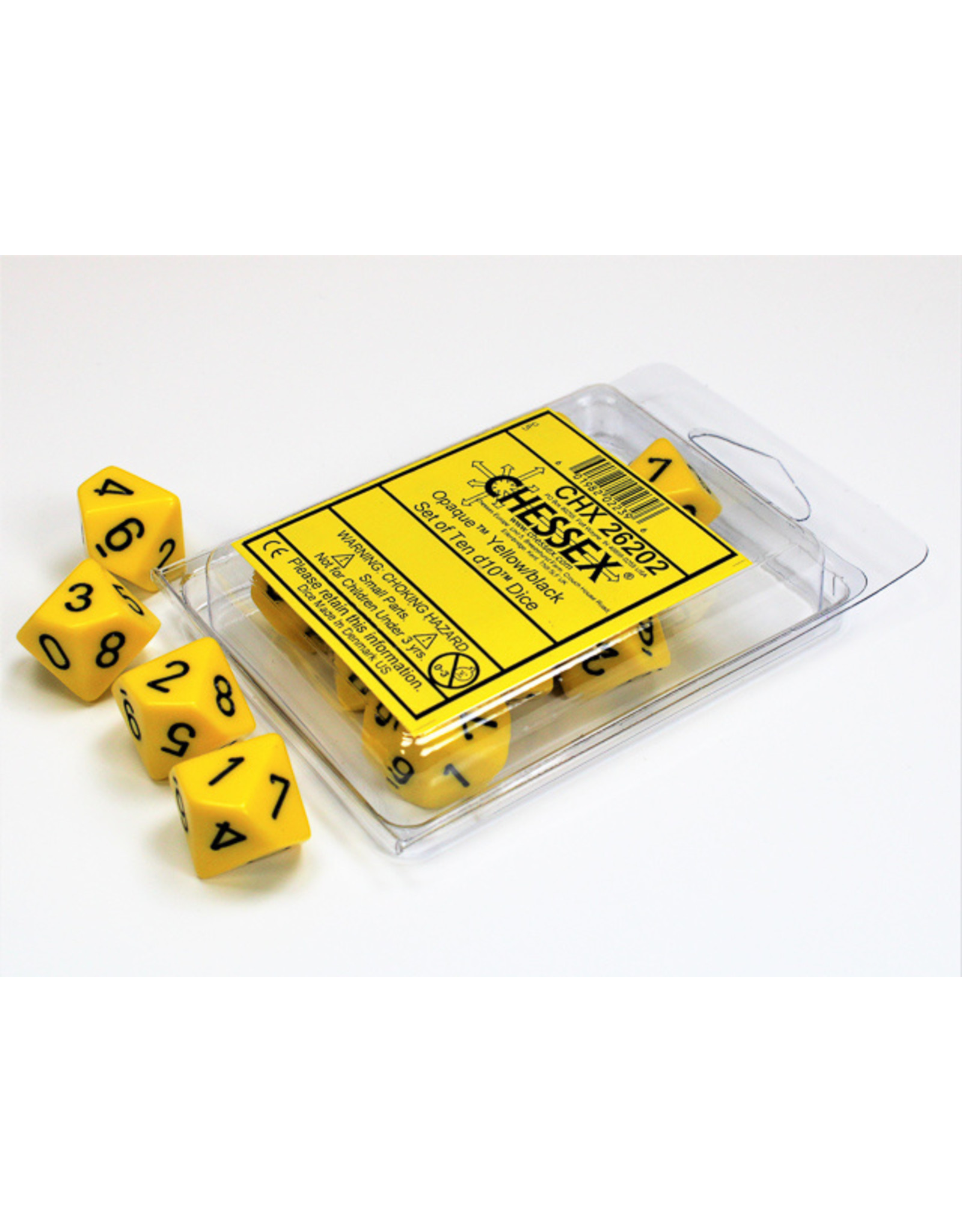 Chessex Chessex D10 Dice Sets