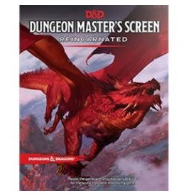 Wizards of the Coast D&D 5.0: DM Screen Reincarnated