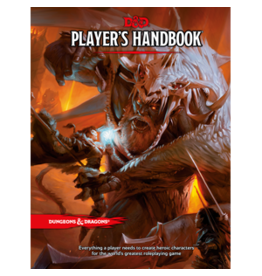 Wizards of the Coast D&D 5.0: Players Handbook