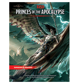 Wizards of the Coast D&D 5.0: Princes of the Apocalypse