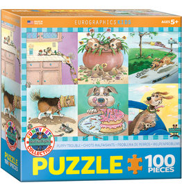 "Eurographics ""Puppy Trouble"" 100 Piece Puzzle"
