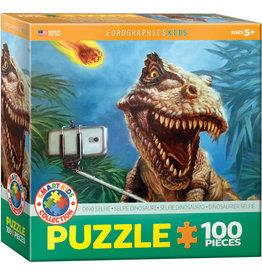 "Eurographics ""Dino Selfie"" 100 Piece Puzzle"
