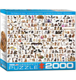 "Eurographics ""The World of Dogs"" 2000 Piece Puzzle"